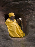 Bet Medhane Alem (Saviour of the World)  Lalibela  Ethiopia  Africa