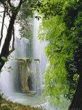Organ Complex Fountain  Villa d'Este Gardens  Tivoli  Lazio  Italy  Europe