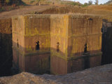 St Giorgis (St George's) Rock Cut Church  Lalibela  Ethiopia  Africa