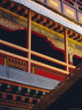 Detail  Potala Palace  Unesco World Heritage Site  Lhasa  Tibet  China  Asia