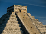 Mayan Ruins  Chichen Itza  Unesco World Heritage Site  Yucatan  Mexico  Central America