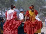 Romeria Del Rocio Fetival  El Rocio  Andalucia (Andalusia)  Spain  Europe