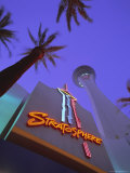 Stratosphere Tower  Las Vegas  Nevada  USA