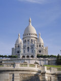 Sacre Coeur Basilica  Paris  France  Europe