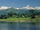 Machapuchare (Machhapuchhre) Peak  Pokhara  Himalayas  Nepal
