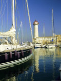 Harbour  Port Vauban  Antibes  Alpes-Maritimes  Provence  Cote d'Azur  France  Europe