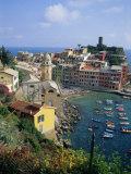 Vernazza  Cinque Terre  Unesco World Heritage Site  Italian Riviera  Liguria  Italy  Europe
