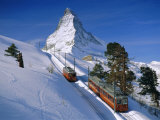 The Matterhorn  Zermatt  Switzerland  Europe