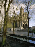 Notre Dame  Christian Cathedral  Amiens  Picardy  France  Europe