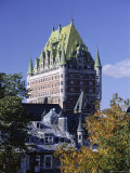 Chateau Frontenac  Quebec City  Quebec Province  Canada  North America