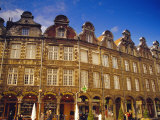 18th Century Flemish Buildings  Place Des Heros  Arras  Pas-De-Calais  France  Europe