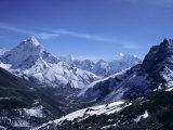 Ama Dablam Peak  Mt Everest Region  Himalayas  Nepal
