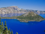Crater Lake National Park  Oregon  USA