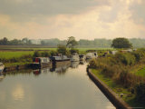Knowle Locks  Autumn  the Grand Union Canal  West Midlands  England