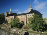 Akershus Castle and Fortress  Central Oslo  Norway  Scandinavia