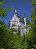 Royal Castle  Neuschwanstein  Bavaria  Germany  Europe