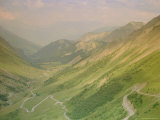 Savoie View from the Col Du Glandon  Rhone-Alps  Alps  France  Europe