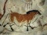 Cave Painting  Lascaux  Aquitaine  France