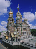 Church of the Resurrection (Church on Spilled Blood)  St Petersburg  Russia  Europe