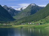Scenery Near Songdal  Western Fjords  Norway  Scandinavia  Europe