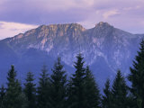 Mount Giewont and Zakopane  Tatra Mountains  Poland  Europe