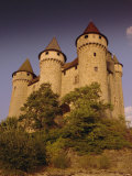 Chateau De Val  Bort-Les-Orgues  France  Europe