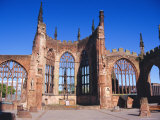 Old Cathedral (Bombed in 2nd World War)  Coventry  Warwickshire  UK