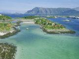 Bronnoysund  Kystriksveien Coast Route  Norway  Scandinavia  Europe