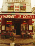 Cafe Restaurant  Montmartre  Paris  France  Europe
