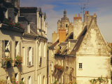 Cite Medievale  Loches  Indre-Et-Loire  Loire Valley  France  Europe