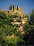 Chateau De Beynac  River Dordogne  Dordogne  Aquitaine  France  Europe