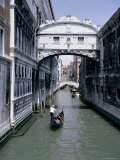 The Bridge of Sighs  Venice  Unesco World Heritage Site  Veneto  Italy  Europe
