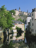 Luxembourg City  Old City and River  Luxembourg