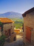 View from Eaus Village of Mont Canigou  Pyrenees-Orientale  Languedoc-Roussillon  Pyrenees  France
