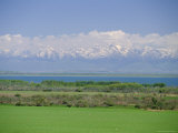 Lake Issyk-Kul  Second Largest Mountain Lake  Kirghizstan (Kyrgyzstan)  Fsu  Central Asia  Asia