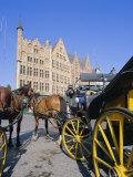 Main Town Square  Bruges  Belgium