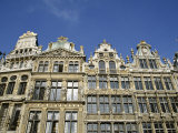 Buildings on La Grand Place  Unesco World Heritage Site  Brussels (Bruxelles)  Belgium  Europe