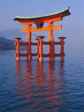 Torii  Miya Jima (Itsuku-Shima) Island  Japan