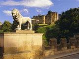 Alnwick Castle  Alnwick  Northumberland  England