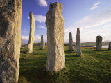 Standing Stones of Callanish  Isle of Lewis  Outer Hebrides  Scotland  United Kingdom  Europe