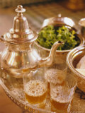 Mint Tea  Marrakech  Morocco  North Africa