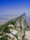 The Rock's Peak  Gibraltar  Bay of Algeciras  Mediterranean Sea  Europe