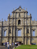 St Paul's Cathedral  Macau  China