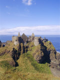 Dunluce Castle  County Antrim  Northern Ireland  UK  Europe