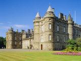 Holyrood House  Edinburgh  Lothian  Scotland