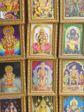 Pictures of Various Hindu Gods for Sale in Little India  Singapore  South East Asia