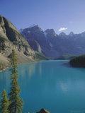 Valley of Ten Peaks  Moraine Lake  Banff National Park  Rocky Mountains  Alberta  Canada