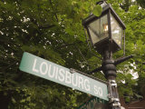 Louisburg Square  Beacon Hill  Boston  Massachusetts  USA