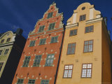 17th Century Houses in Stor Torget (Stor Square)  Old Town  Stockholm  Sweden  Scandinavia  Europe
