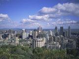 City Skyline  Montreal  Quebec Canada  North America
